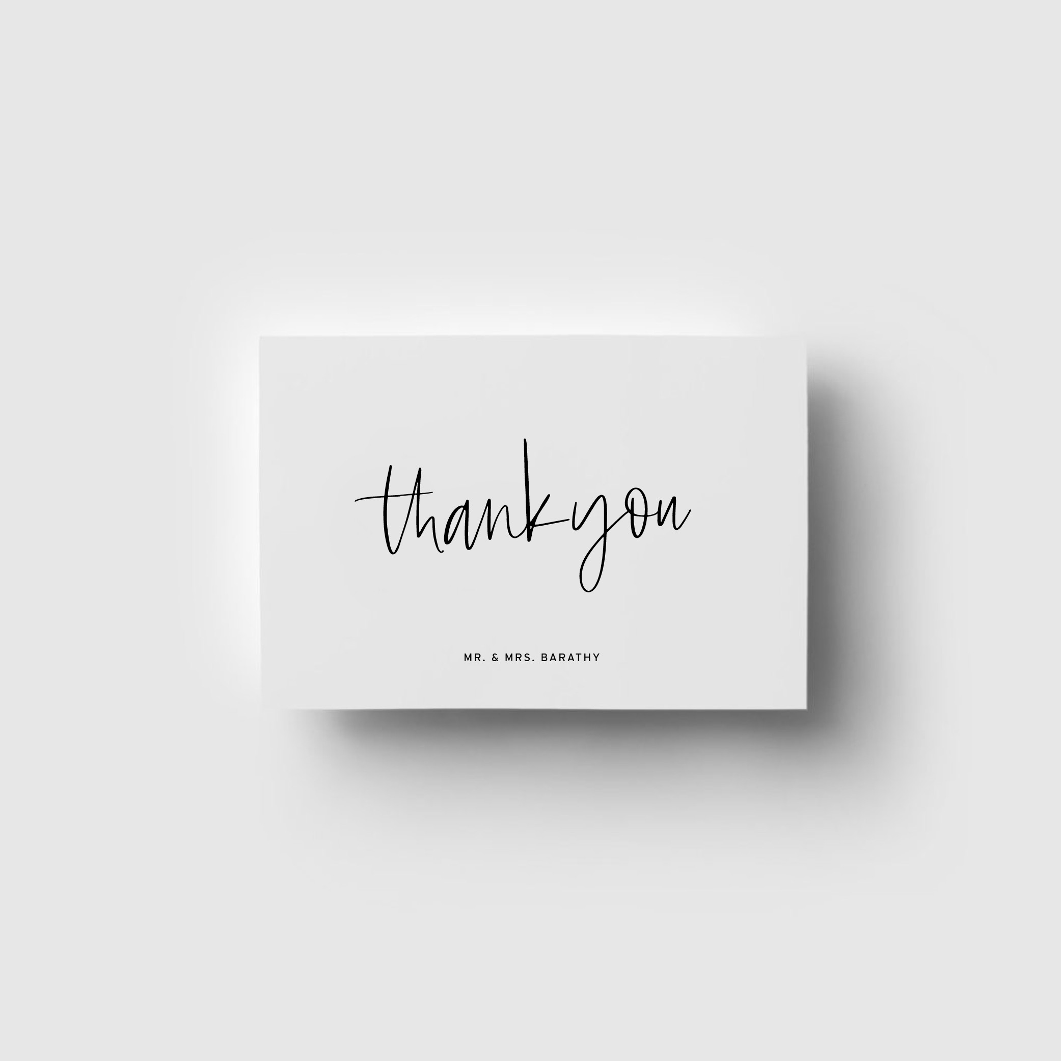 - THANK YOU CARDS   Love Letters