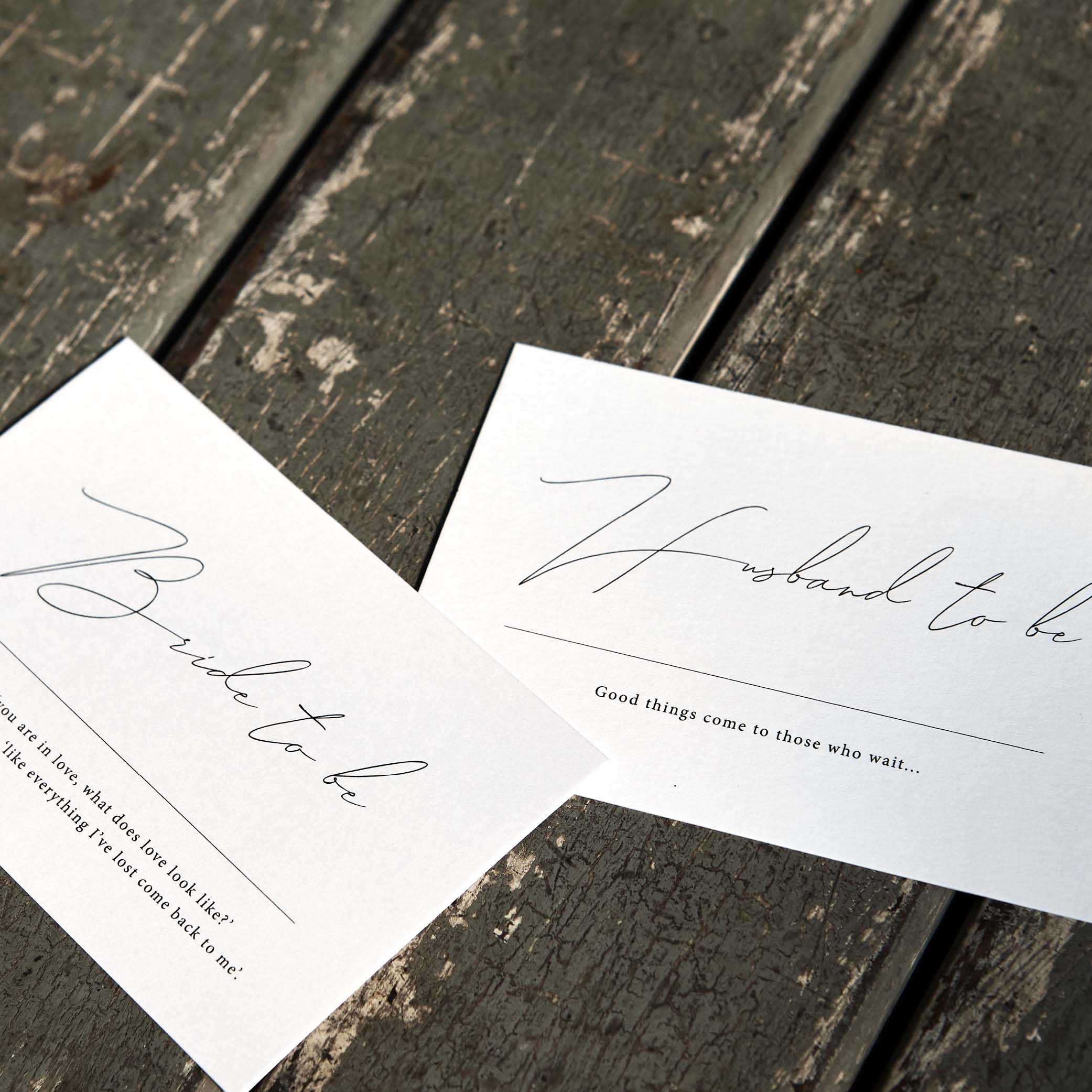 - PLACE CARDS   Flat Lay