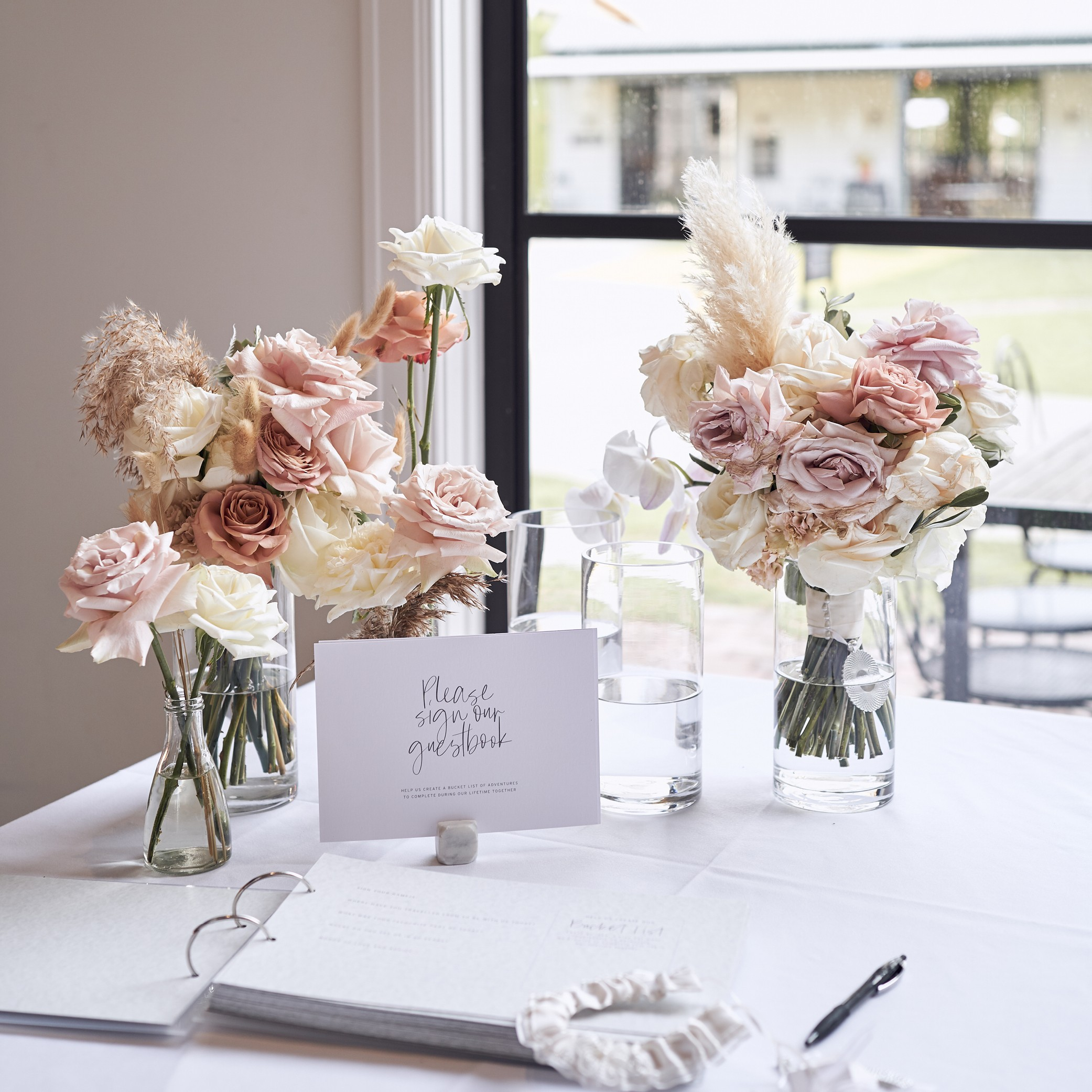 - GUEST BOOK SIGNAGE